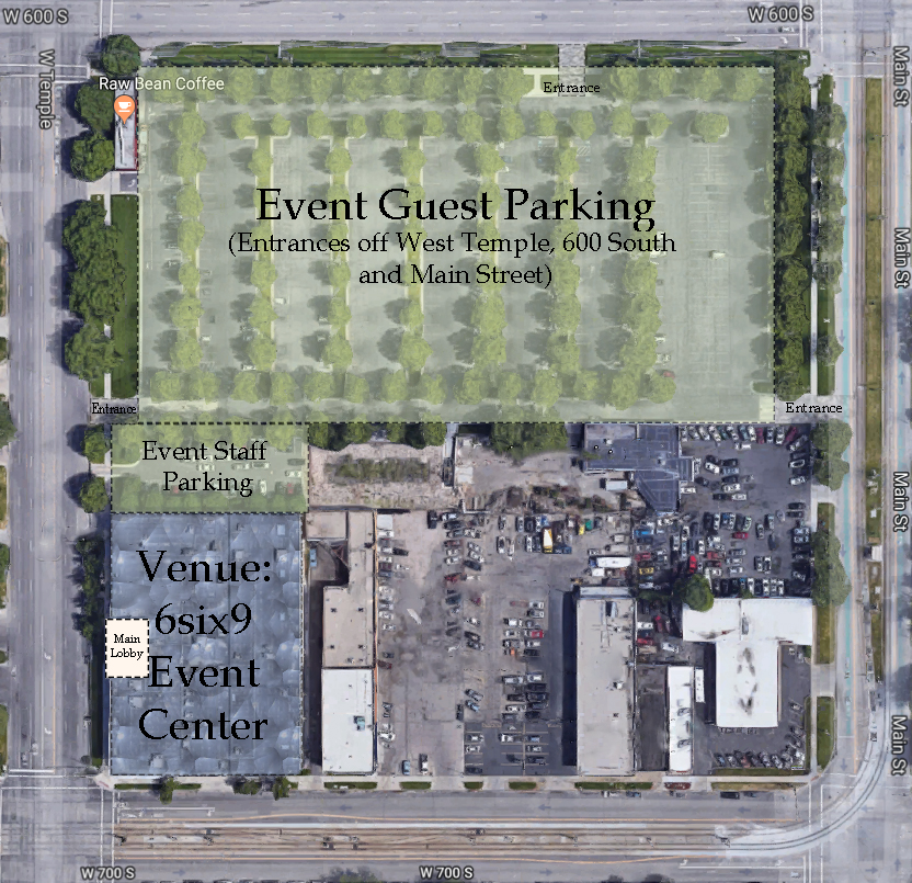 6Six9 Event Center Parking